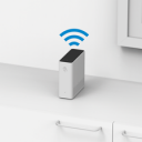 Richtig: WLAN-Box stehend platziert