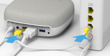 Connecting to the Swisscom TV-Box