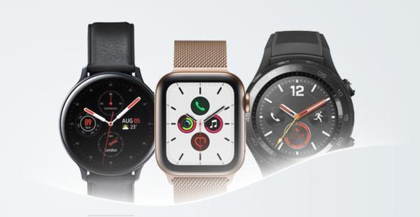 Drei Smartwatches
