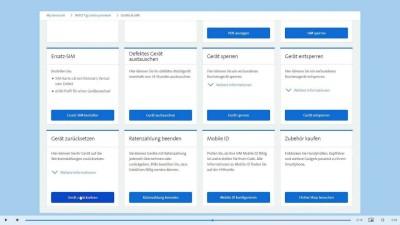 Alle Daten vom Gerät löschen in My Swisscom