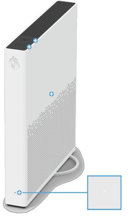 Swisscom Internet-Box 3 - Vorderseite Status LED