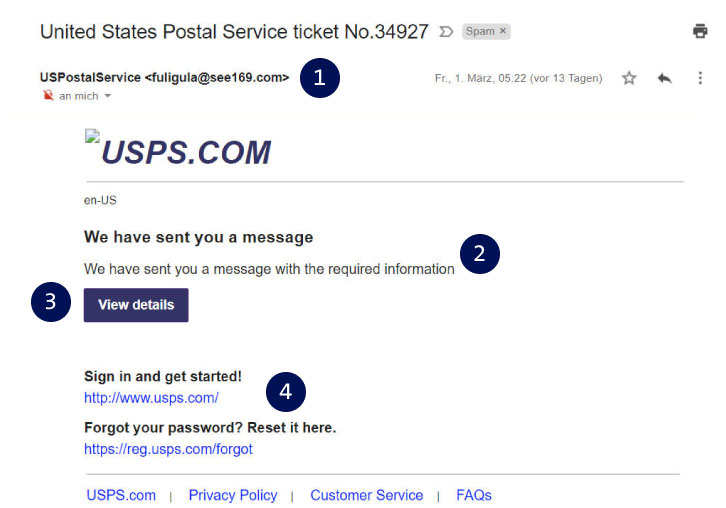 Phishing Mail