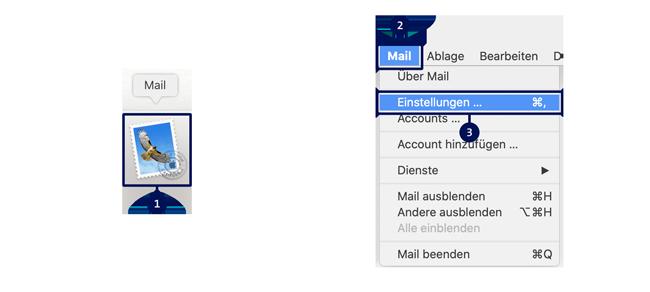 Email einrichten Anleitung Schritt 1
