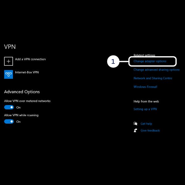 Add a VPN connection part 3