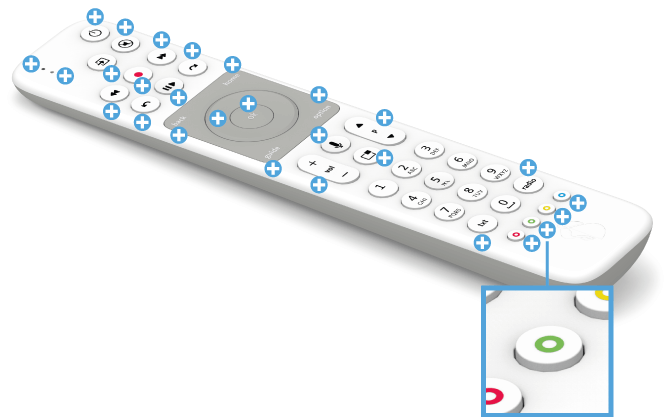 Swisscom blue TV Fernbedienung mit Voice Assistant - Video