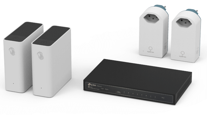 Swisscom TV-Box Disconnect devices from the power