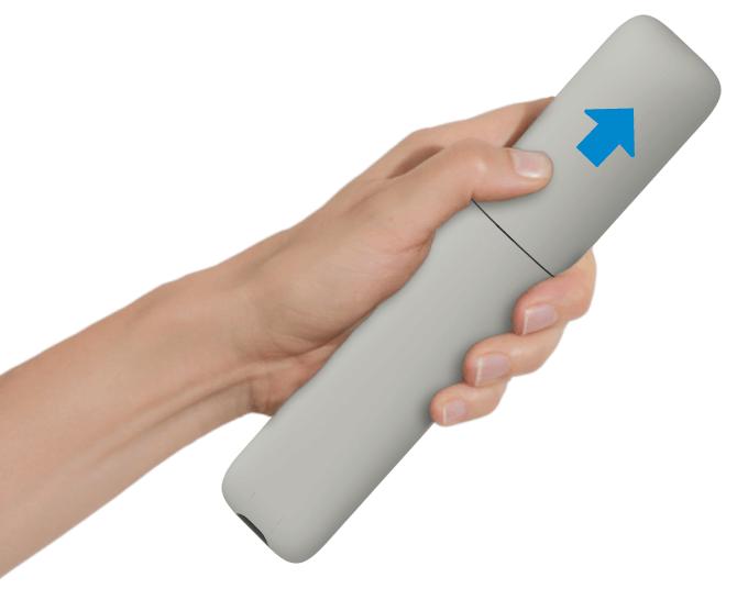 Configurare Swisscom blue TV - Mettere in funzione il telecomando
