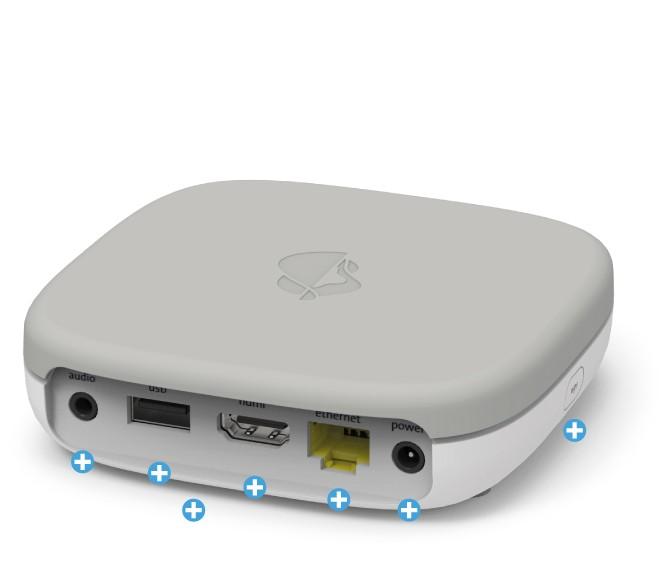 Swisscom Box 21 - Rückseite