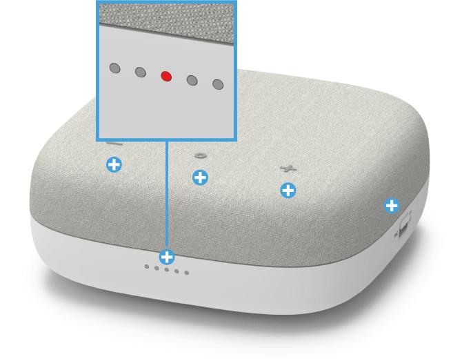 Swisscom Box - Vorderseite LED