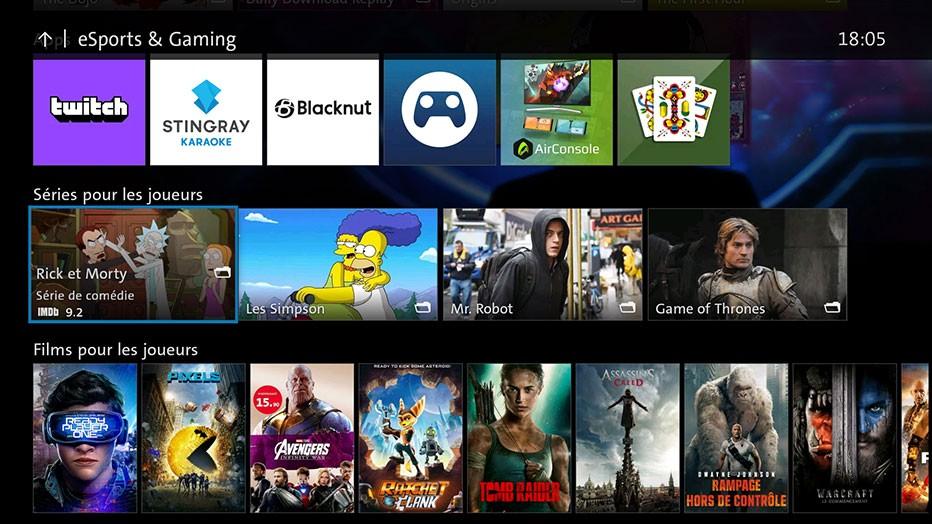 Swisscom blue TV  - eSports & Gaming