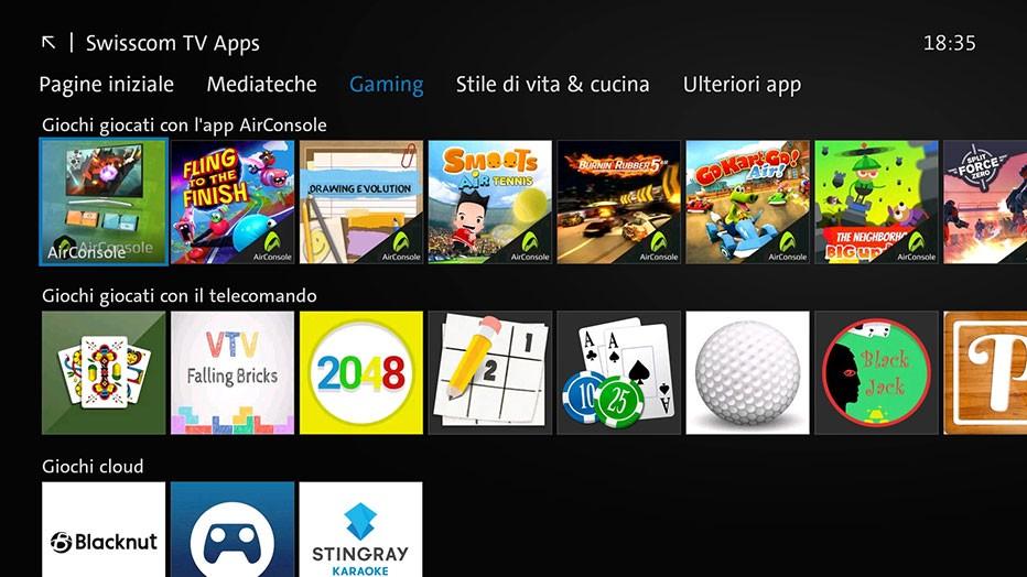 Swisscom blue TV  - Swisscom TV Apps