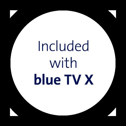 mit blue TV X inklusive