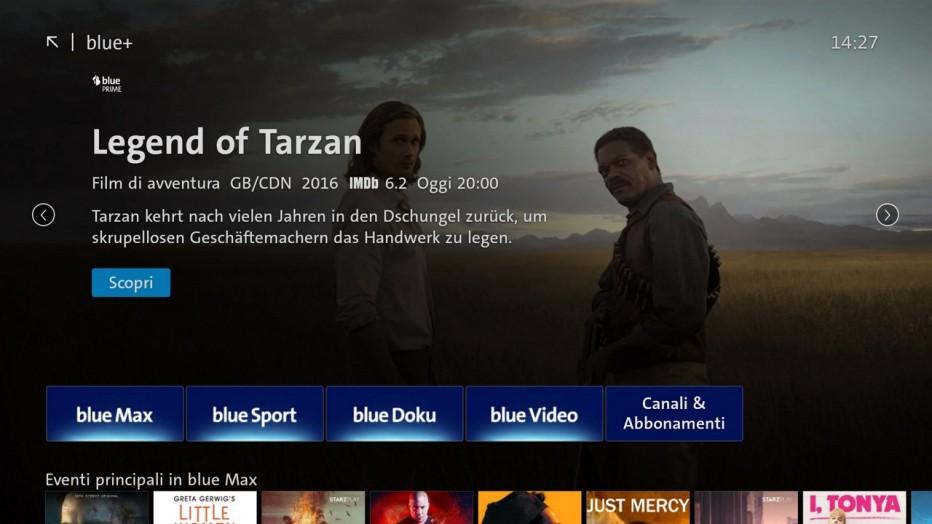 Swisscom blue TV  - blue+