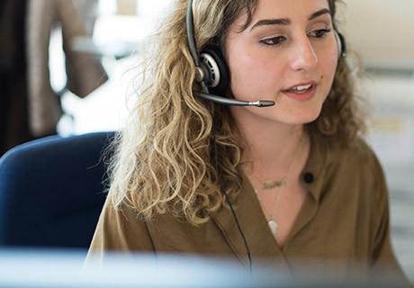 Swisscom call centre employees