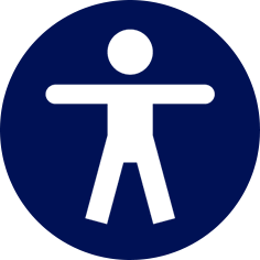 Pittogramma uomo