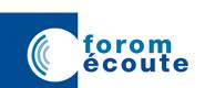 Logo Forom écoute