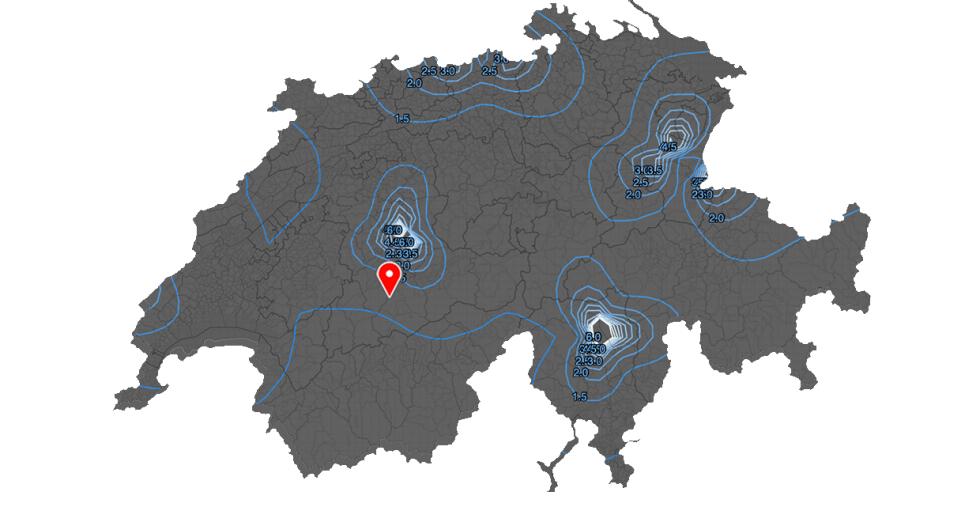 Karte Elektrische Feldstärken