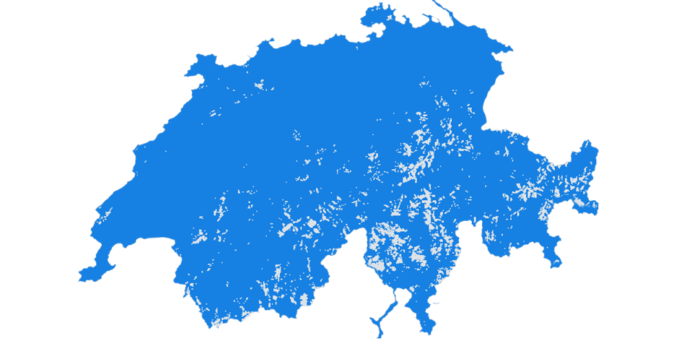 Karte Mobilfunk