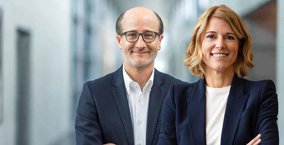 Klementina Pejic und Hans C. Werner