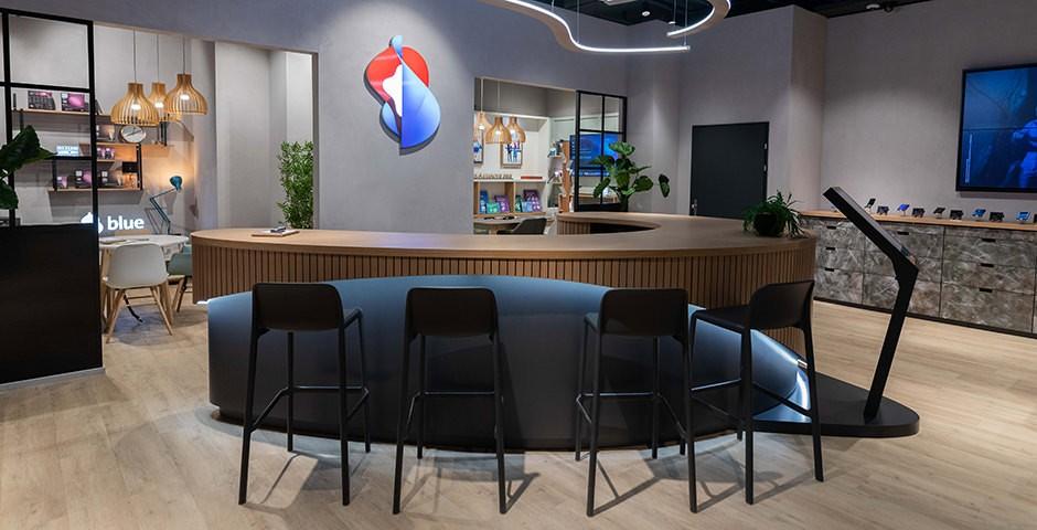 Swisscom Shop Innenraum