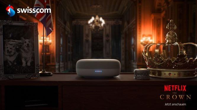 Swisscom and Netflix the Crown