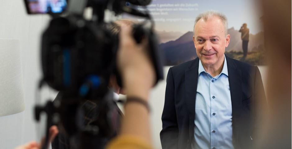 Urs Schäppi dans une interview