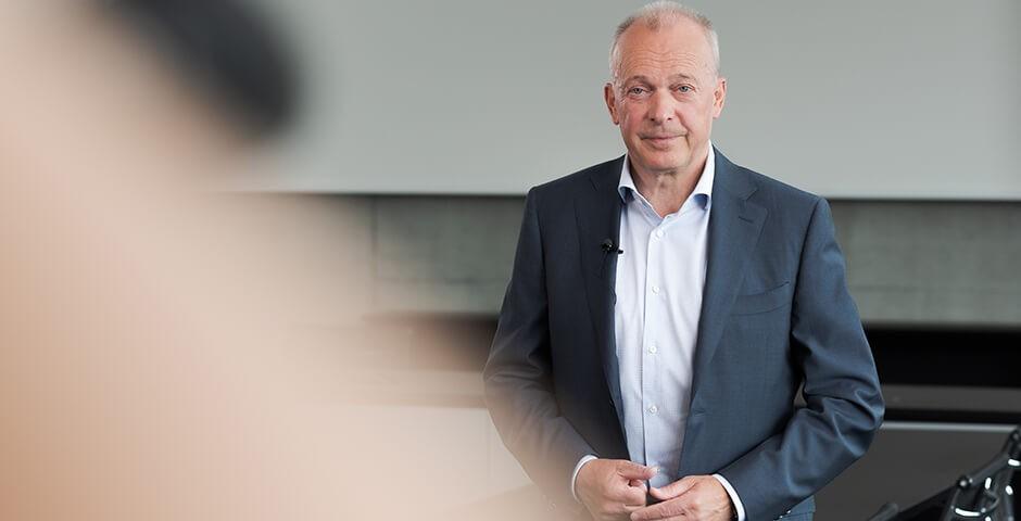 Portrait Urs Schaeppi CEO Swisscom