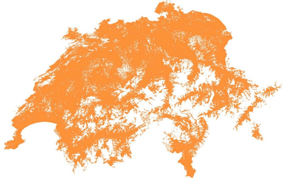 Map Switzerland