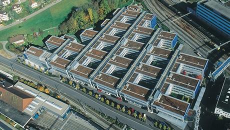 Toits de bâtiments