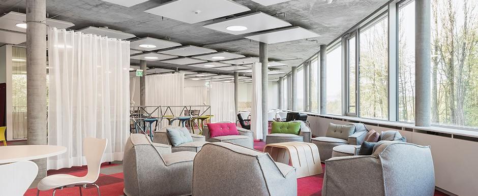 Salle de pause Businesspark Ittigen