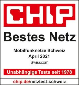Chip Logo bestes Netz 2021