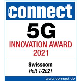 Logo connect 5G Innovation Award 2021
