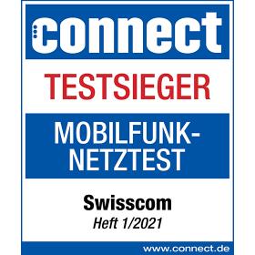 Logo connect testsieger Mobilfunk Netztest