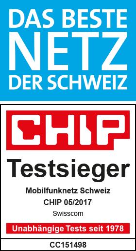 Das beste Nezt der Schweiz: Chip Testsieger