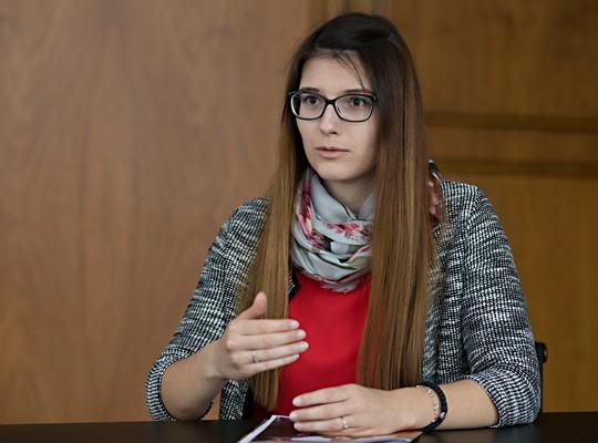 Ana Tiosavljevic, Kundendienst-Teamleiterin bei acrevis