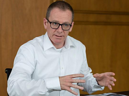 Patrik Eberle, Projektleiter Schalter der Zukunft bei acrevis