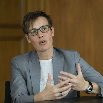 Mona Brühlmann, Gesamtprojektleiterin Digitalisierung bei acrevis