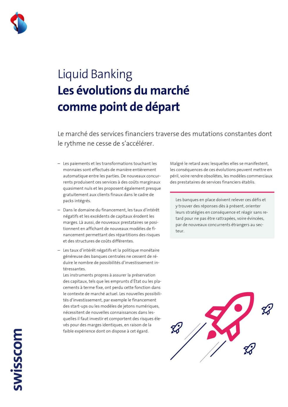 Dokument: Marktveränderungen als Ausgangspunkt