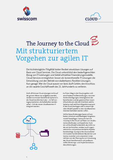 Journey to the Cloud Whitepaper