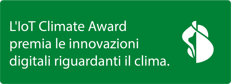 Swisscom IoT Climate Award Sticker