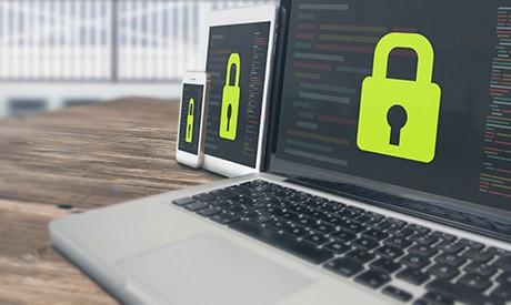 Security Online Website Web Hosting Technology Concept