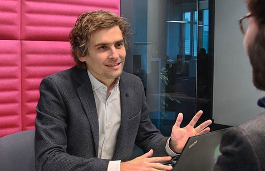 Joël Winteregg, CEO of NetGuardians