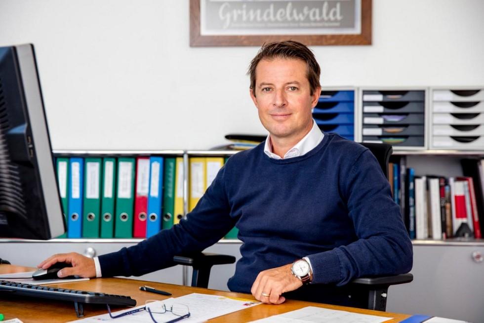Bruno Hauswirth, Geschäftsführer von Grindelwald Tourismus