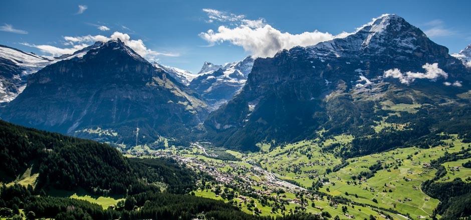 Bergpanorama Grindelwald