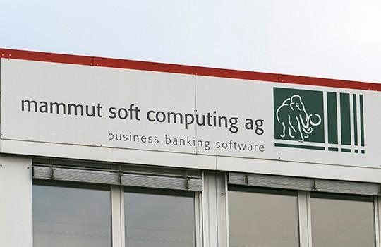 Führend für Business Banking Software: die mammut soft computing ag.