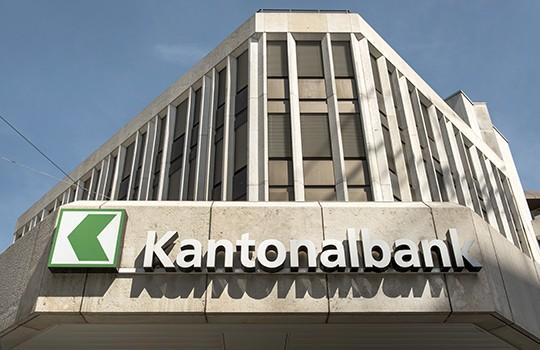 Führend in Sachen Cyber Security: die St. Galler Kantonalbank.