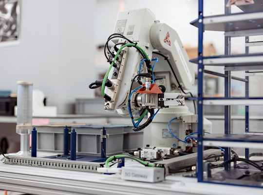 Für die Anbindung der Maschinen hat Swisscom ein entsprechendes Gateway entwickelt.