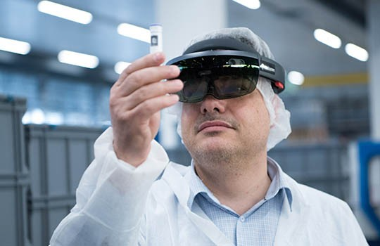 Qualitätskontrolle mit Augmented Reality