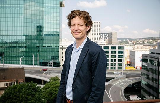 Stefan Metzger, Head of Smart City chez Swisscom.