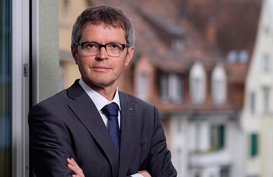 Pius Zängerle vom Krankenversicherungsverband